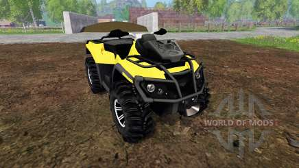 Can-Am Outlander 1000 XT Kompressor для Farming Simulator 2015
