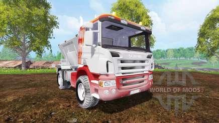 Scania P420 [sprayer] для Farming Simulator 2015