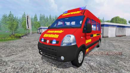 Renault Master [fire service] для Farming Simulator 2015