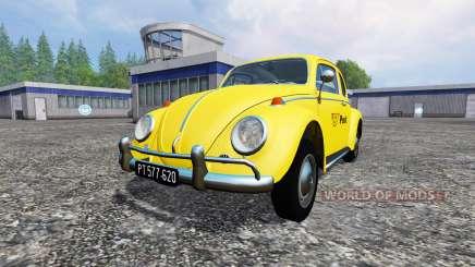 Volkswagen Beetle 1966 [Post Edition] для Farming Simulator 2015