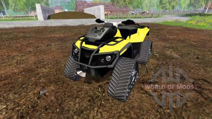 Can-Am Outlander 1000 XT [quadtrac] для Farming Simulator 2015