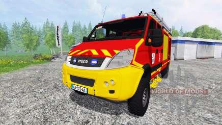 Iveco Daily CCRL для Farming Simulator 2015
