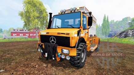 Mercedes-Benz Unimog [special] для Farming Simulator 2015