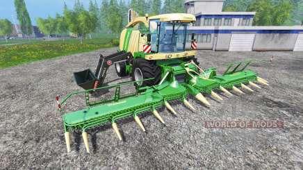 Krone Big X 1100 FL для Farming Simulator 2015
