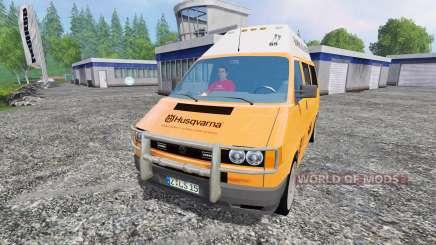 Volkswagen Transporter T4 Husqvarna Service для Farming Simulator 2015