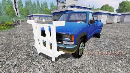 Chevrolet Silverado 3500 1994 [plow] для Farming Simulator 2015