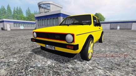 Volkswagen Golf I GTI [tuning] для Farming Simulator 2015