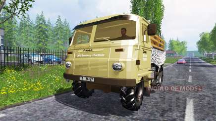 Robur LD 3000 в трафике для Farming Simulator 2015