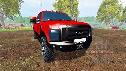 Ford F-250 2009 v2.0 для Farming Simulator 2015