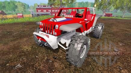 Jeep Hurricane Twin Hemi для Farming Simulator 2015
