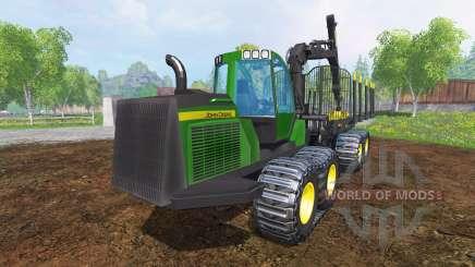 John Deere 1510E v2.0 для Farming Simulator 2015