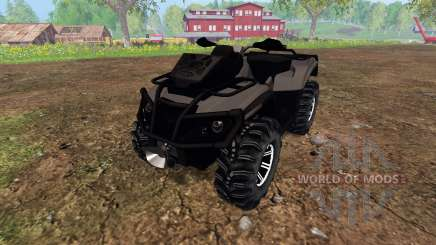 Can-Am Outlander 1000 XT [black] для Farming Simulator 2015