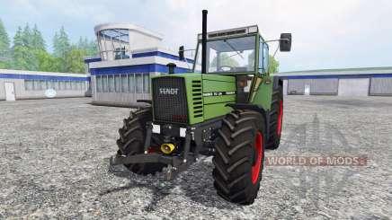 Fendt Farmer 312 LSA v3.0.02 для Farming Simulator 2015