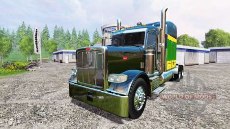 Peterbilt 388 [pack] v2.0 для Farming Simulator 2015