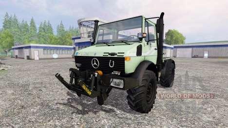 Mercedes-Benz Unimog U1200 для Farming Simulator 2015