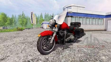Harley-Davidson для Farming Simulator 2015