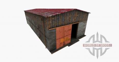 Machine Hall для Farming Simulator 2015
