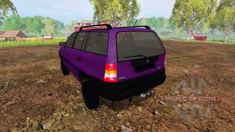 Opel Astra F Caravan [tuning] для Farming Simulator 2015