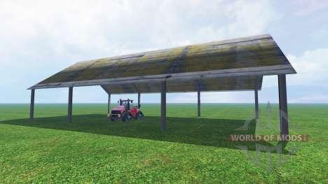 Навес для Farming Simulator 2015