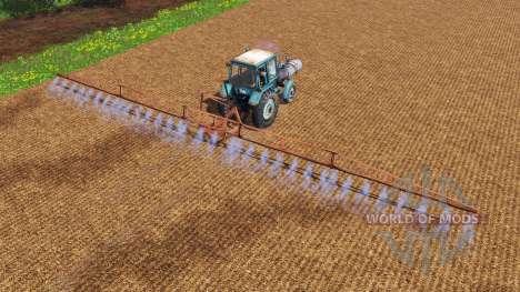 МТЗ-80 Опрыскиватель для Farming Simulator 2015