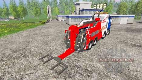 Mercedes-Benz Axor Depan 2000 для Farming Simulator 2015
