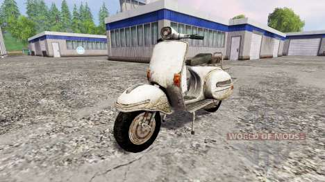 Piaggio Vespa v1.0 для Farming Simulator 2015