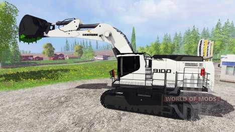 Liebherr R9100 для Farming Simulator 2015
