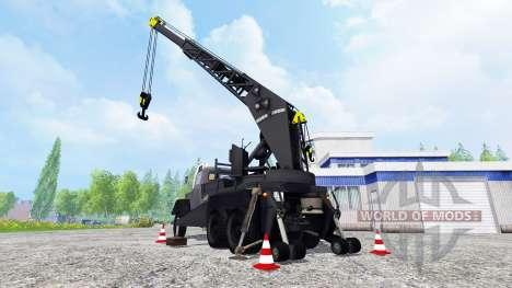 Magirus-Deutz 200D26A 6x6 [autocrane] для Farming Simulator 2015