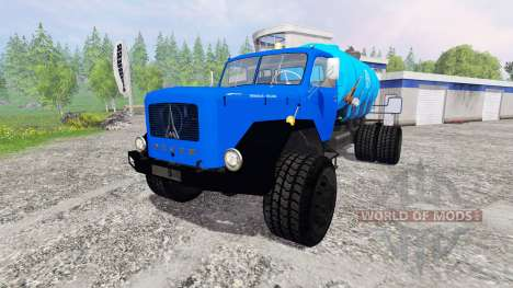 Magirus-Deutz 200D26 [water] v1.5 для Farming Simulator 2015