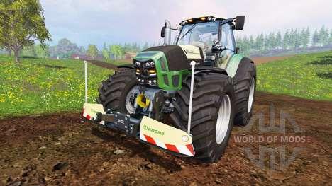 Deutz-Fahr Agrotron 7250 Warrior v7.0 для Farming Simulator 2015