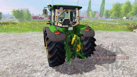 John Deere 7930 для Farming Simulator 2015