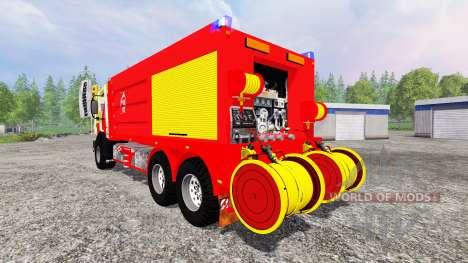 Mercedes-Benz Unimog CCFS для Farming Simulator 2015