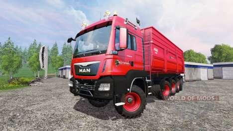 MAN TGS 10x8 для Farming Simulator 2015