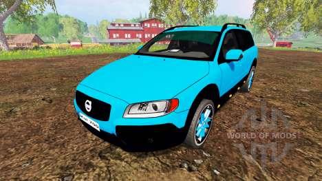Volvo XC70 для Farming Simulator 2015