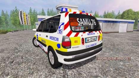 Renault Espace SAMU для Farming Simulator 2015