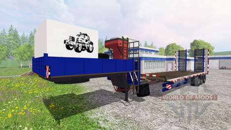 Трал для Farming Simulator 2015