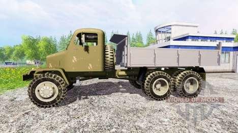 Praga V3S [Army] для Farming Simulator 2015
