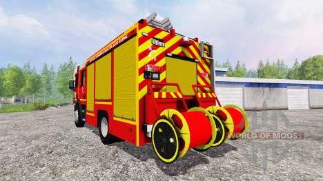 Scania P94D 260 GIMAEX для Farming Simulator 2015