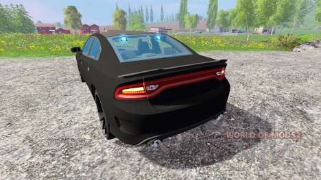 Dodge Carger Hellcat 2015 Undercover для Farming Simulator 2015