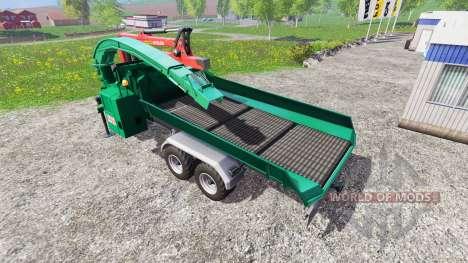 Jenz HEM 583 Z [back] для Farming Simulator 2015
