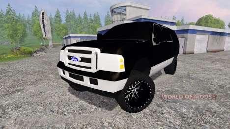 Ford Excursion для Farming Simulator 2015