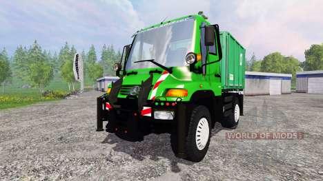 Mercedes-Benz Unimog U400 v1.3 для Farming Simulator 2015