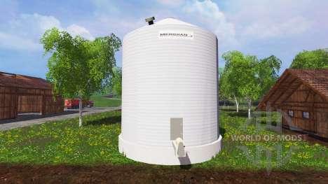 Silo Meridian для Farming Simulator 2015