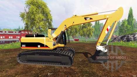 Caterpillar 325C для Farming Simulator 2015