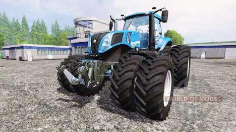 New Holland T8.435 v5.0 для Farming Simulator 2015