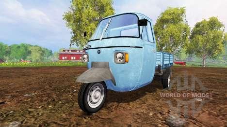 Piaggio Ape P601 для Farming Simulator 2015