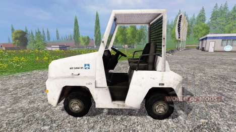 Аэродромный багажный тягач для Farming Simulator 2015