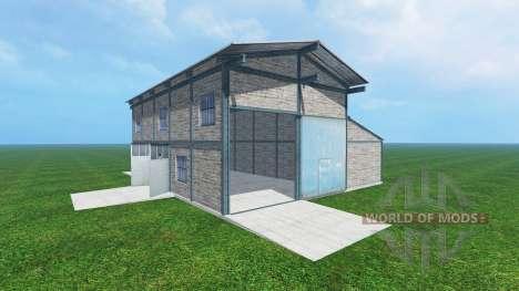 Garage v1.1 для Farming Simulator 2015