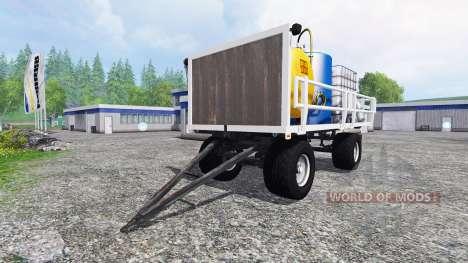 Gruber HW 80 [service] v3.0 для Farming Simulator 2015