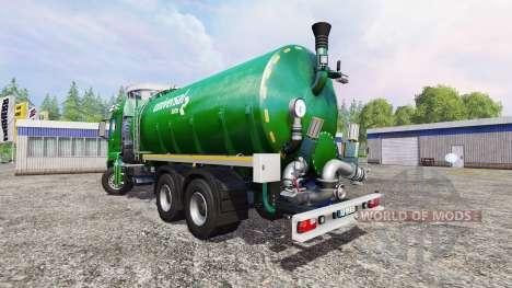 MAN TGS 18.440 [liquid manure] v3.1 для Farming Simulator 2015
